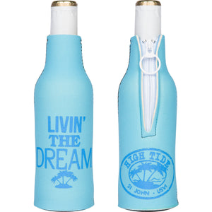 LIVIN' THE DREAM BOTTLE KOOZIE