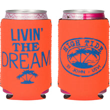 Load image into Gallery viewer, LIVIN' THE DREAM CAN KOOZIE