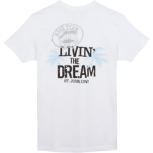 Load image into Gallery viewer, LIVIN' THE DREAM T-SHIRT / LOGO FRONT