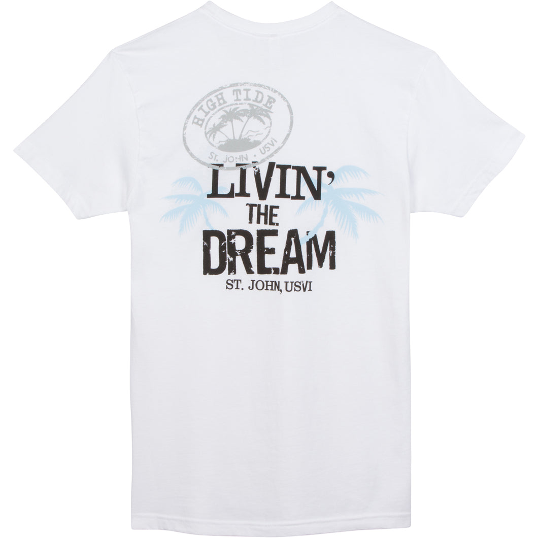 LIVIN' THE DREAM T-SHIRT / LOGO FRONT