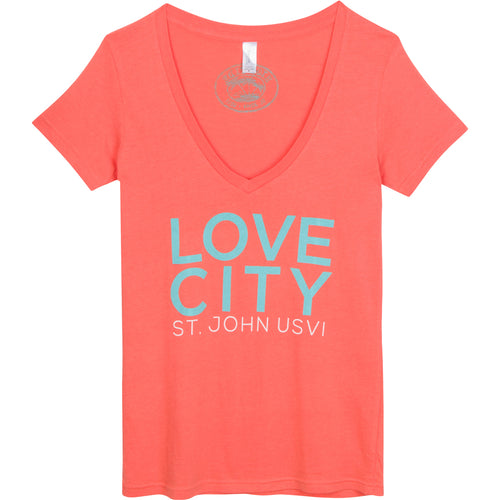 LOVE CITY WOMENS T-SHIRT