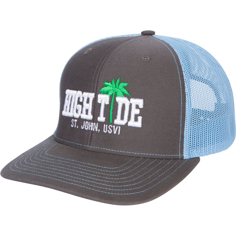 HIGH TIDE PALM TRUCKER CAP