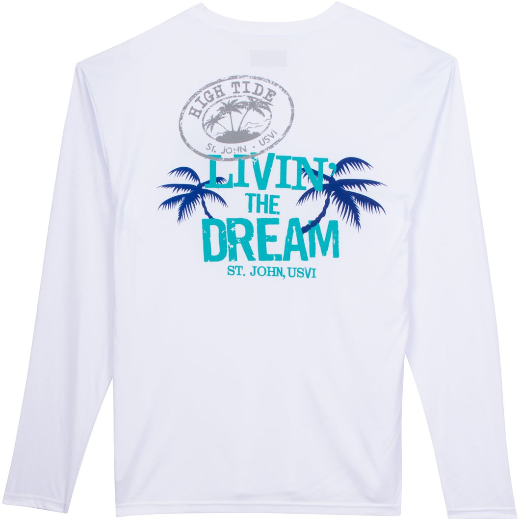 LIVIN' THE DREAM LONG SLEEVE PERFORMANCE SHIRT