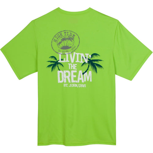 LIVIN THE DREAM PERFORMANCE SHORT SLEEVE T-SHIRT