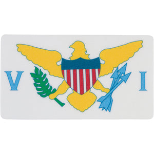 VI FLAG STICKER