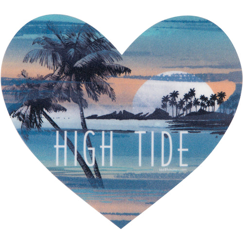 HEART HIGH TIDE STICKER