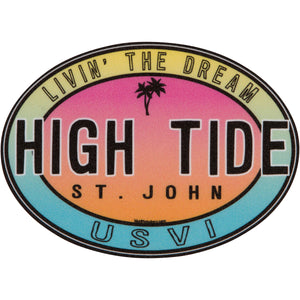 HIPPIE HIGH TIDE STICKER