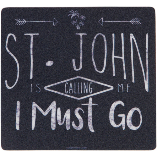 ST. JOHN IS CALLING STICKER
