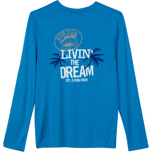 LIVIN' THE DREAM YOUTH PERFORMANCE SHIRT