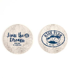 HIGH TIDE CAR COASTER SET