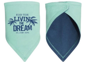 LIVIN' THE DREAM BABY BANDANA BIB