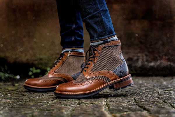 The all new A/W 2019 Goodwin Smith footwear range