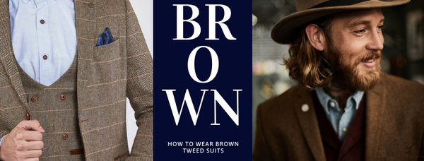 When to Wear a Brown Tweed Suit