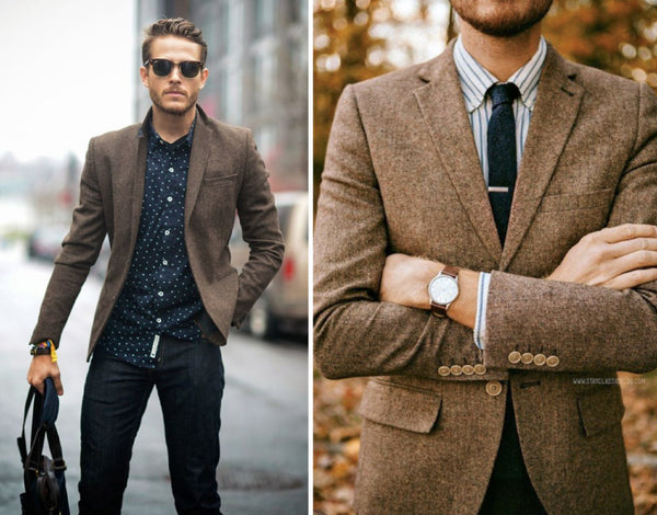Styling a Tweed Jacket