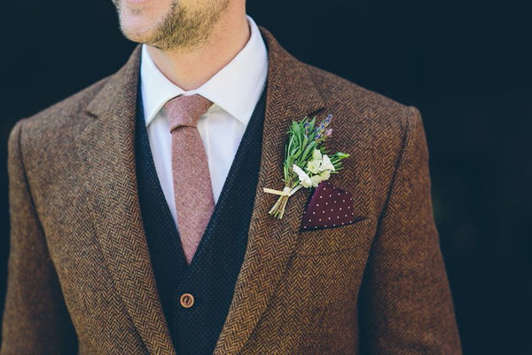 Mens Tweed Wedding Suit Ideas - Be Inspired