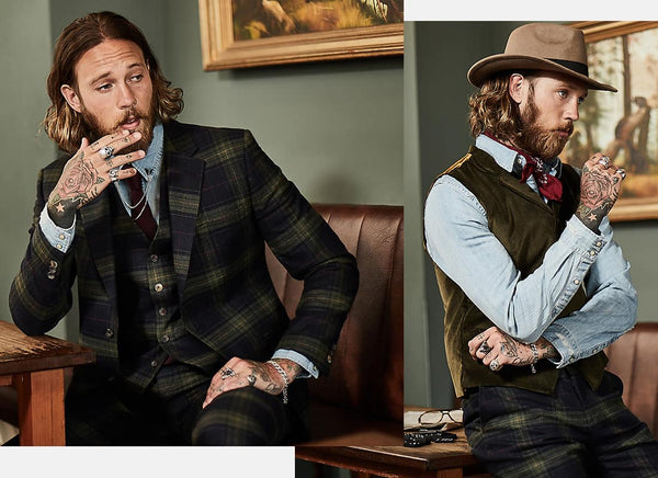 Gibson London Menswear | Mens Tweed Suits | Wool Suits