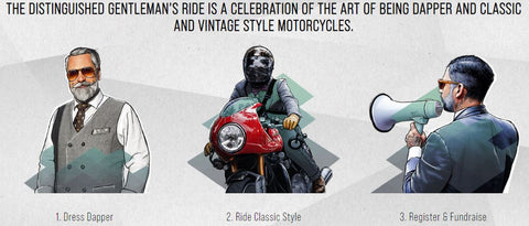 THE DISTINGUISHED GENTLEMAN'S RIDE | MENS TWEED SUITS |