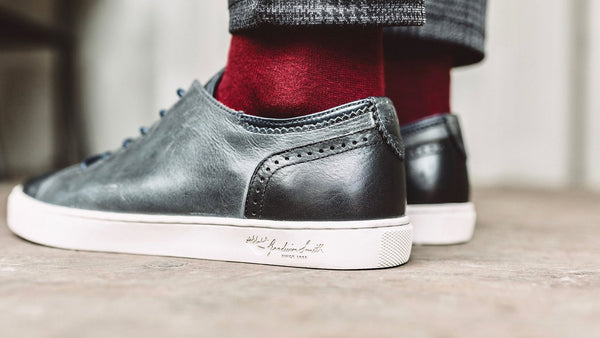 HARLEM NAVY PLIMSOLLS | Goodwin Smith