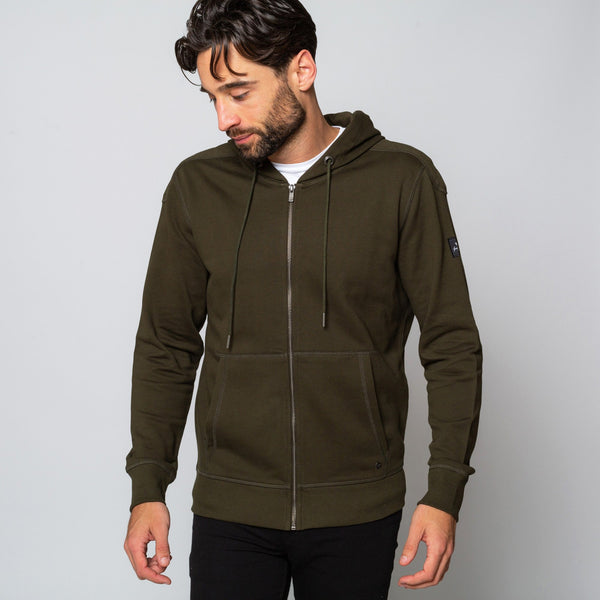 Mens Khaki Hoodie Handmade comfortable Cotton Polyester | Goodwinsmith