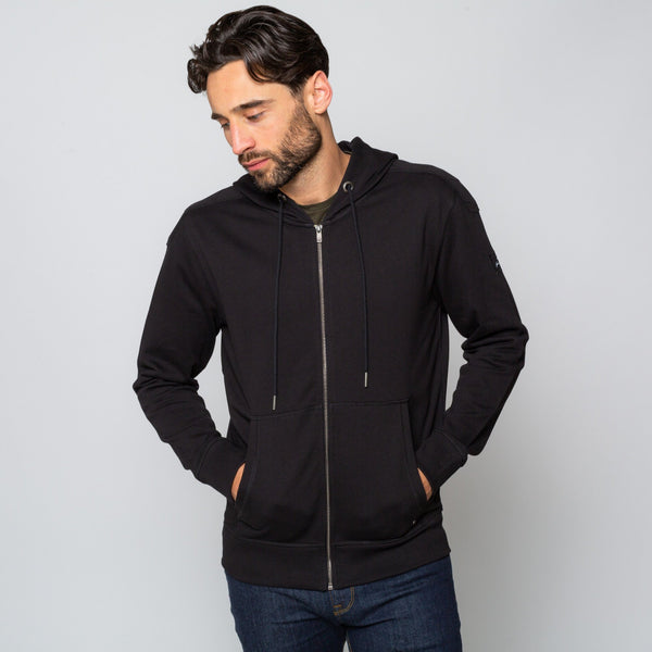 Mens Black Hoodie Handmade comfortable Cotton Polyester | Goodwinsmith