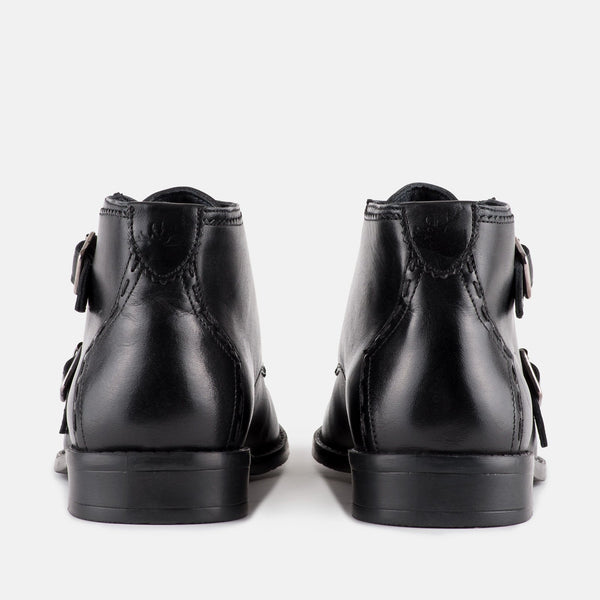 Men's Double Monk Ankle Boot | MENSTWEEEDSUITS.COM