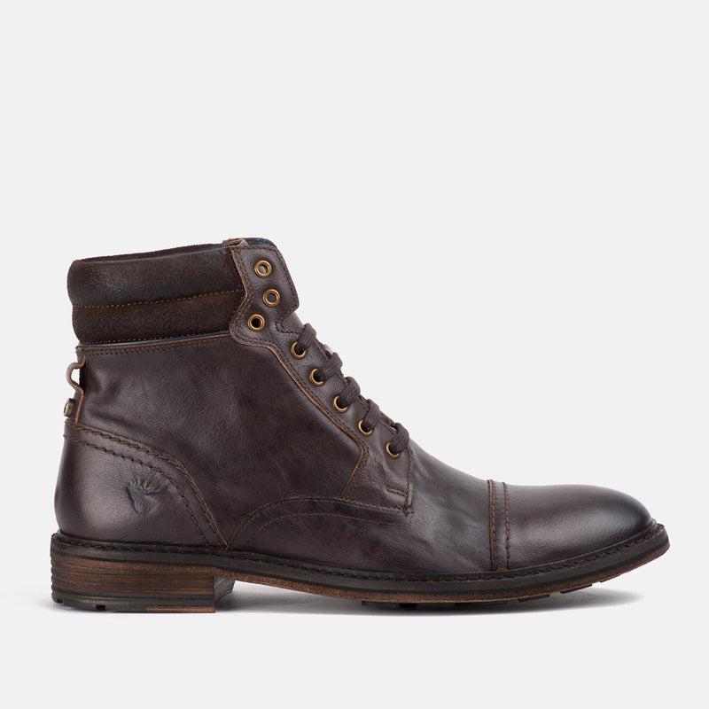 BROWN Handmade high quality leather Goodwin Smith Shoe | Menstweedsuit