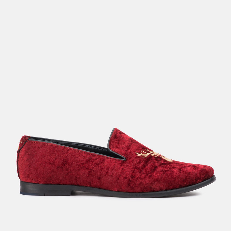 HEFF WINE LOAFERS | MENSTWEEDSUITS.COM
