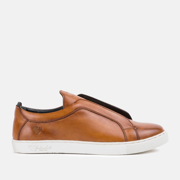 NEWARK TAN PLIMSOLLS | MENSTWEEDSUITS.COM