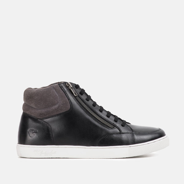 EMPIRE BLACK HIGH TOP | MENSTWEEDSUITS.COM