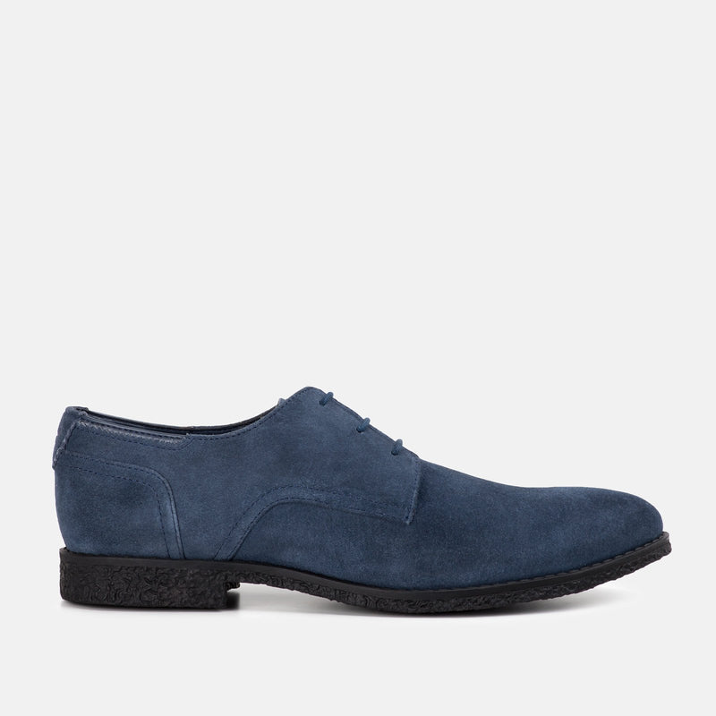 NAVY handmade quality suede desert Goodwin Smith shoe | Menstweedsuits