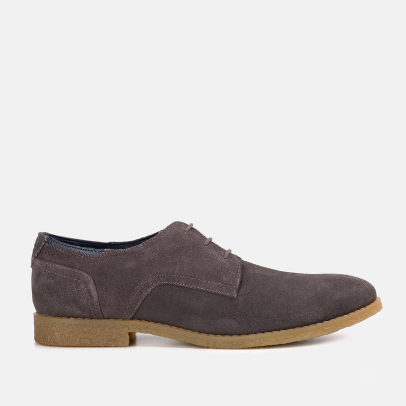 GREY handmade quality suede desert Goodwin Smith shoe | Menstweedsuits