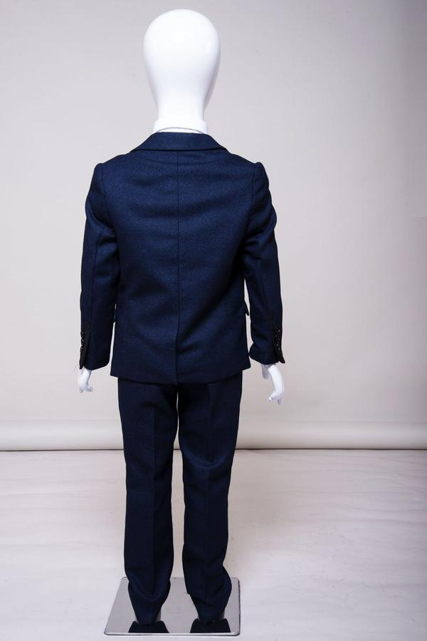 Callum Childrens Blue Suit | Marc Darcy - Mens Tweed Suits