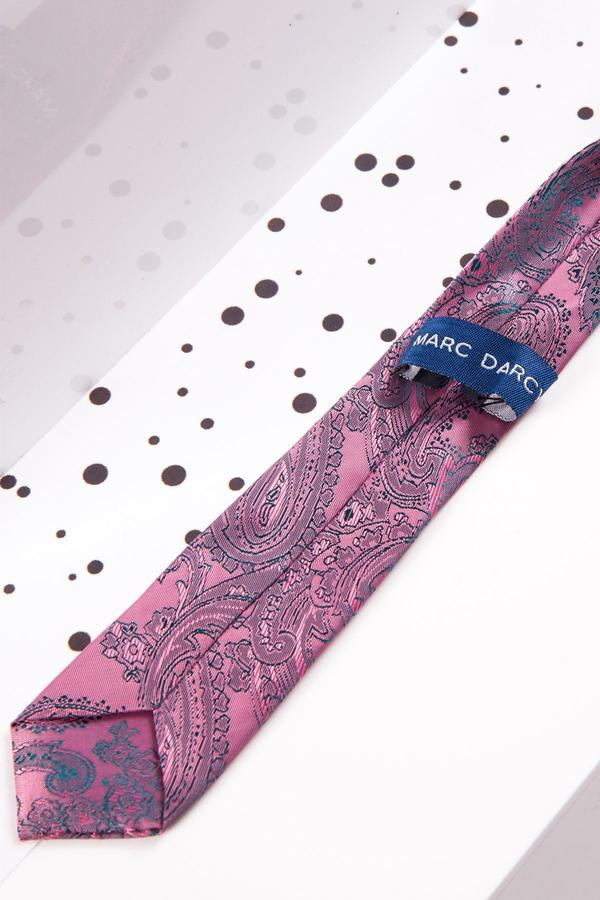 Childrens Pink Paisley Print Tie