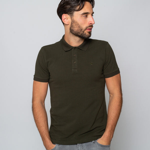 HEWITT KHAKI - Mens Shortsleeve Polos | Mens Tweed Suits