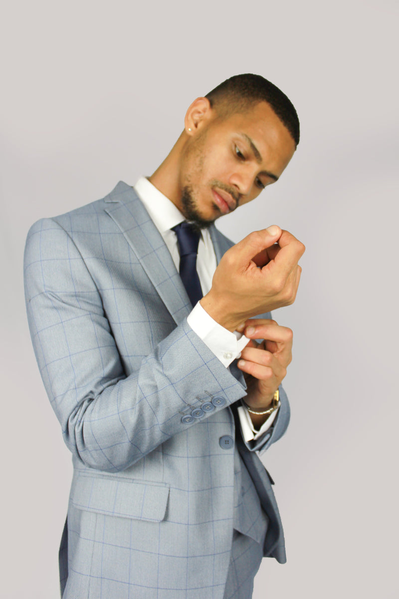 Connor Check Suit | Floretti - Mens Tweed Suits
