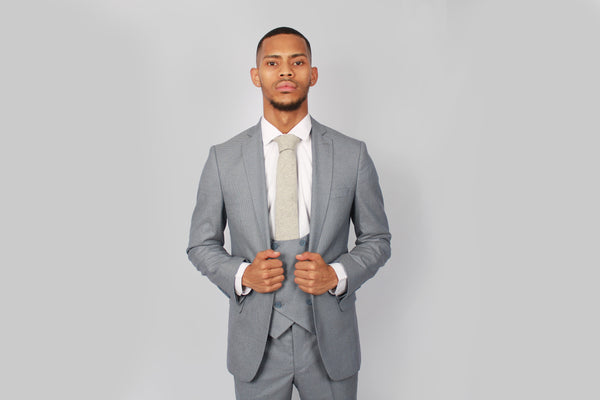 Gerard Blue Suit | Floretti - Mens Tweed Suits