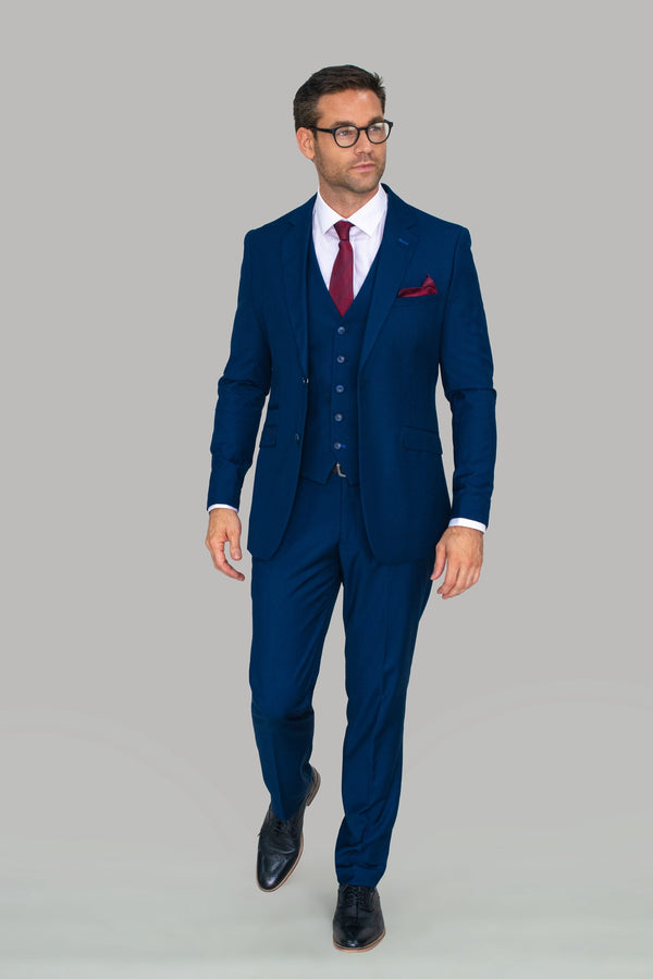 Jefferson Navy Suit Trousers