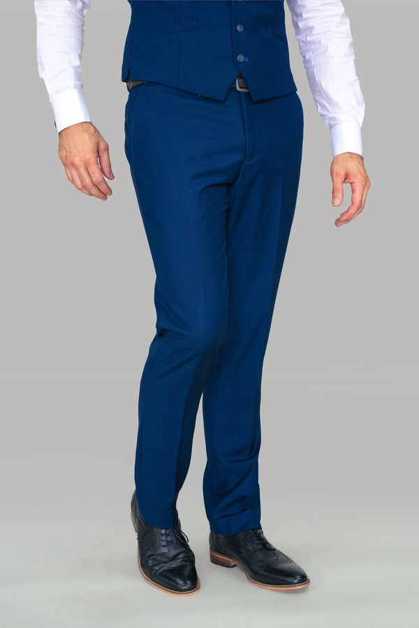 Jefferson Navy Skinny Fit Trousers
