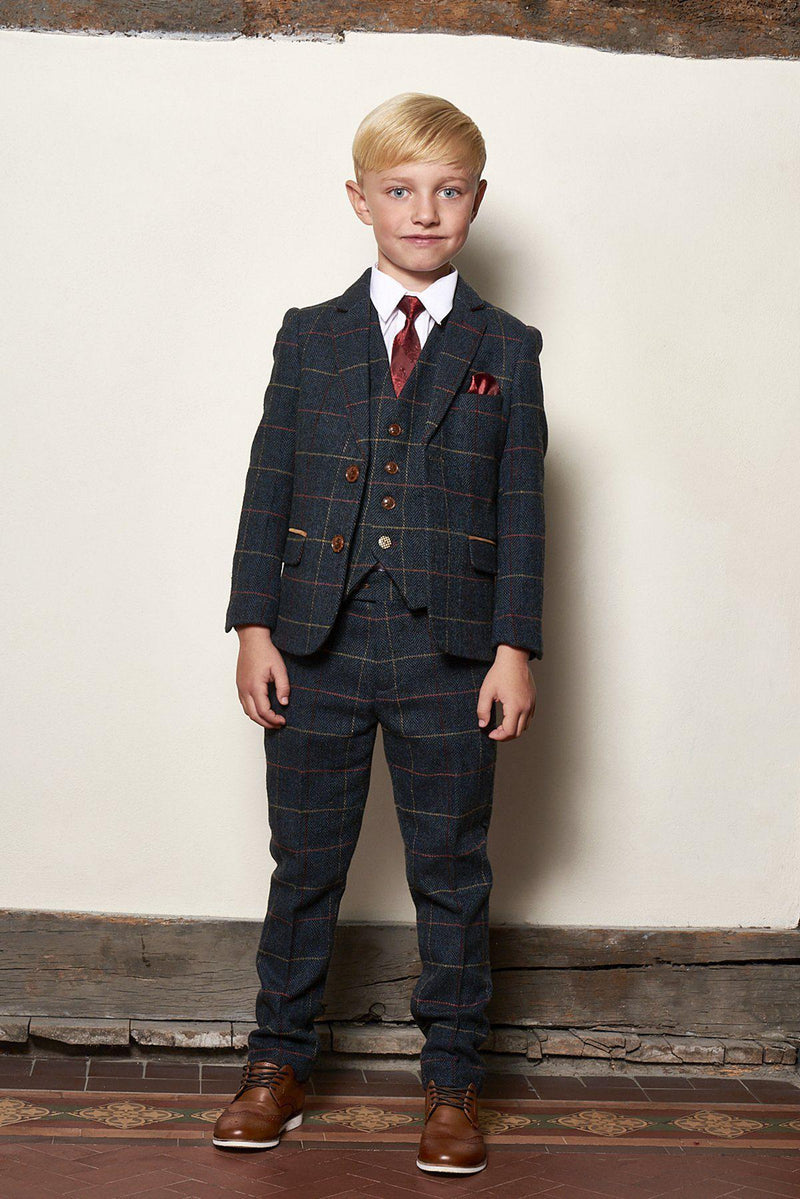 Father And Son Wedding Suits | Boys Tweed Suits | Mens Tweed Suits