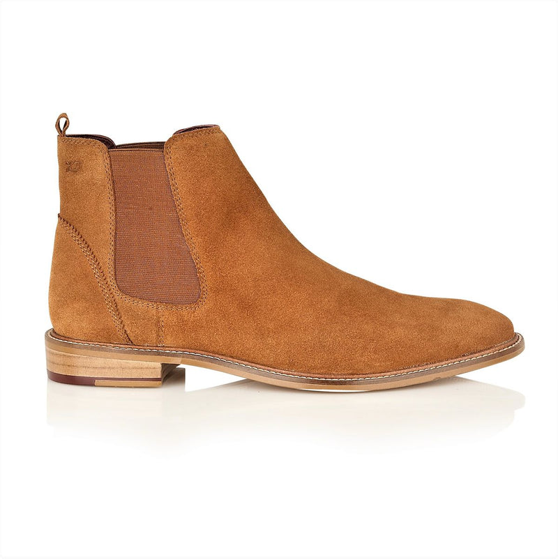 Mens Tan Dessert Boots | London Brogues | Mens Tweed Suits