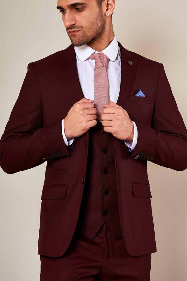 Danny Wine Three Piece Suit | Marc Darcy - Mens Tweed Suits