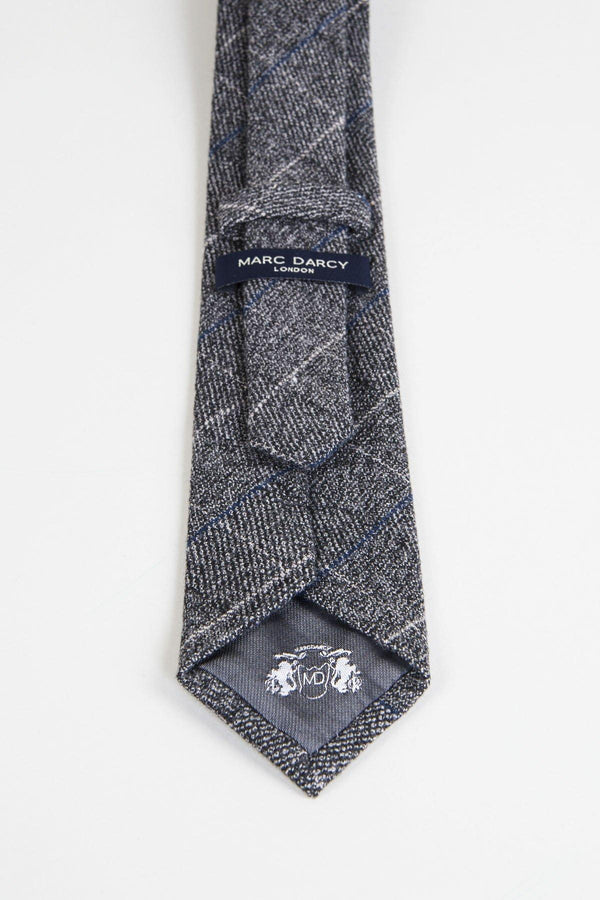 Scott Grey Tweed Tie