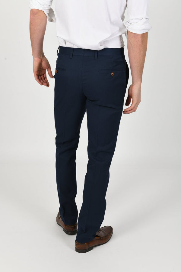 Max Royal Blue Wedding Trousers | Marc Darcy