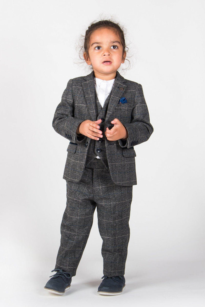 Father and Son Wedding Suit | Boys Tweed Suits | Mens Tweed Suits