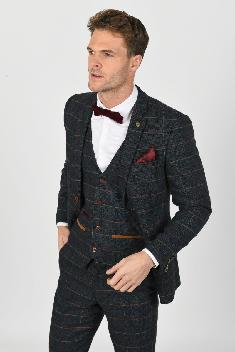 Mens Wedding Suits | Marc Darcy Eton Suit