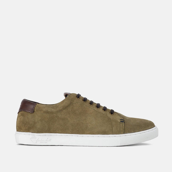 Smart KHAKI handmade quality Goodwin Smith plimsoll | Mens Tweed Suits