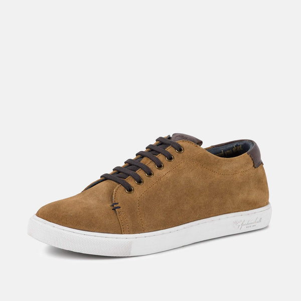 Smart TAN handmade quality Goodwin Smith plimsoll | Mens Tweed Suits