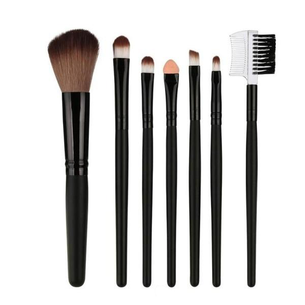 7 Piece Professional Makeup Brush Set