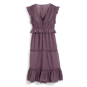 Hattie Dress - Plum