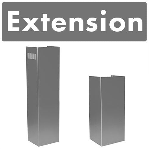 to 12 ft ZLINE 2-36 in Ceilings Chimney Extensions for 10 ft